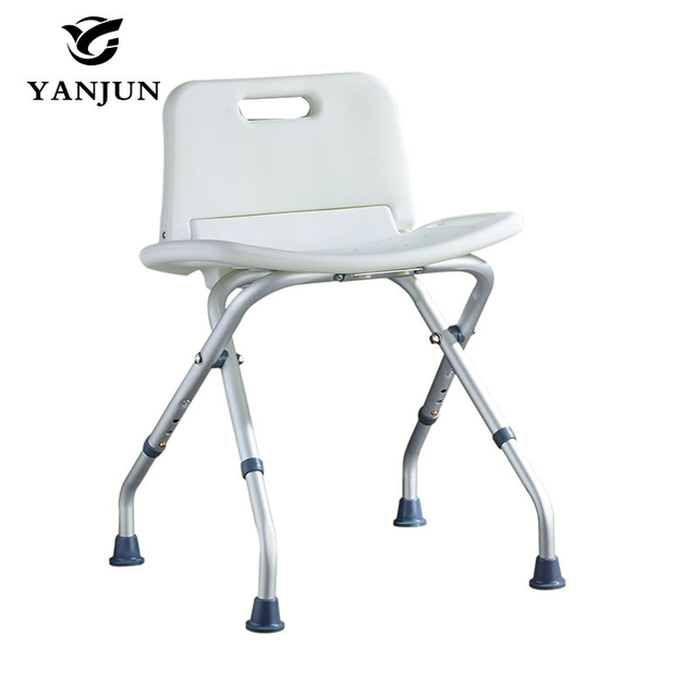 grey bathroom safety shower tub bench chair cover depot promo code yanjun folding bath and seat height adjustable yj 2052b