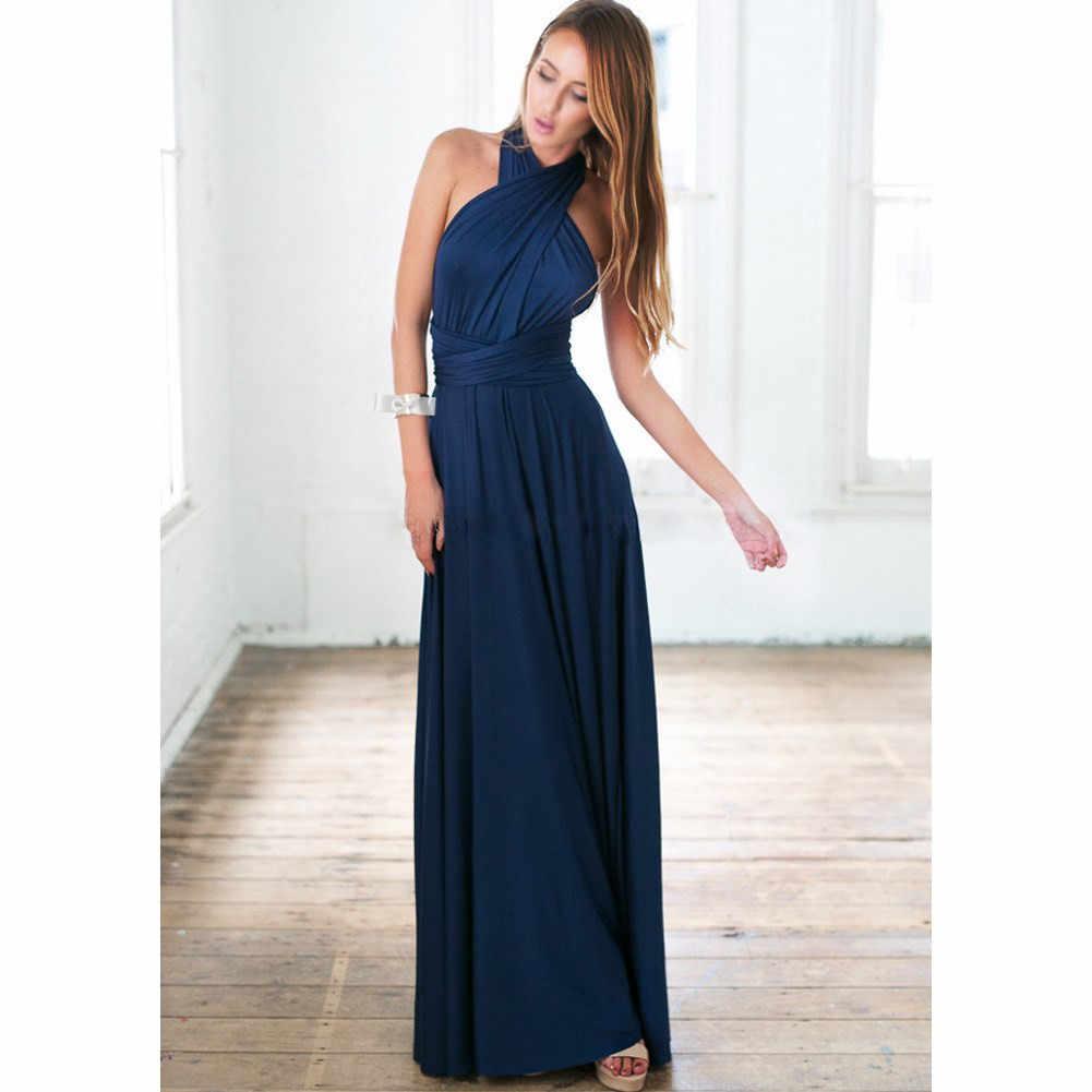 Merletto di modo Abiti da ballo Lungo 2019 Royal Blue Abito Da Sera per Le Donne Sexy Elegante abito Da Sera Del Partito Abiti Plus. siz ES1147