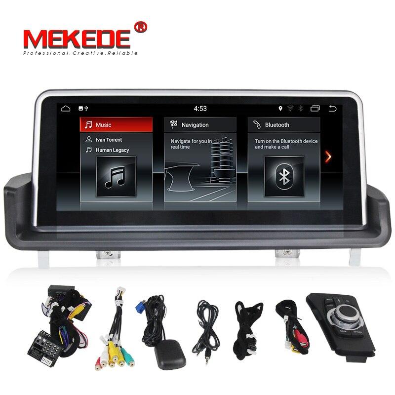 IPS Grand écran 10.25 Android 7.1 voiture lecteur dvd gps navigation pour BMW 3 Série E90/E91/ e92/E93 avec vidéo/radio/wifi/USB