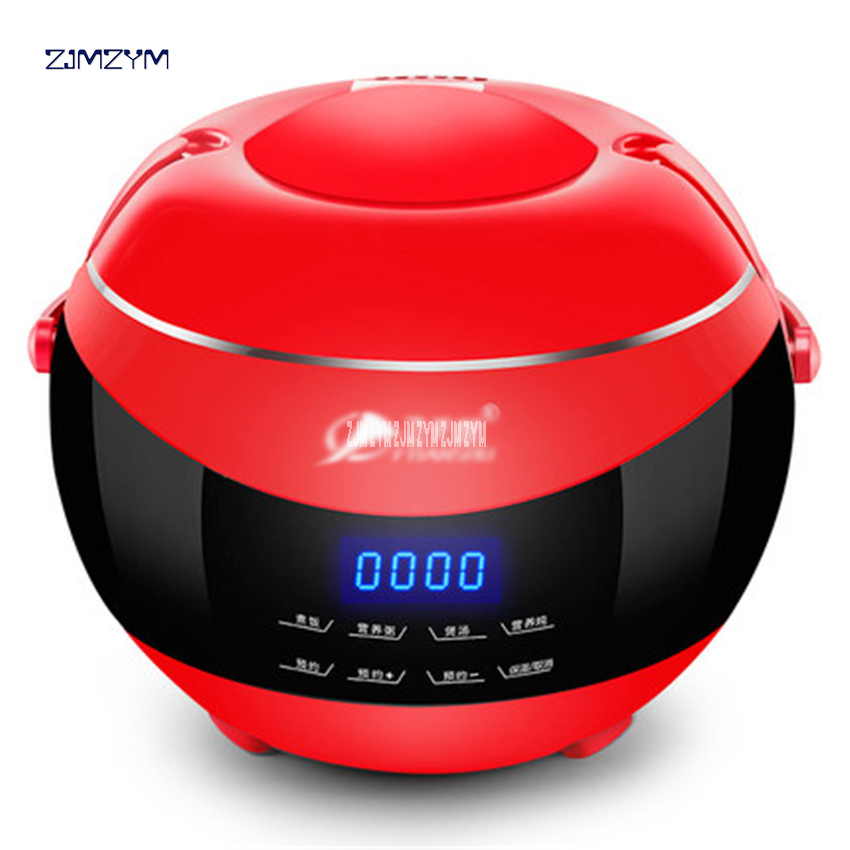 Electric rice cooker Cute 220V /50 Hz multifunctional student single people small automatic 2L mini cooker for 1-5 people GL-168 smart mini electric rice cooker small household intelligent reheating rice cookers kitchen pot 3l for 1 2 3 4 people eu us plug