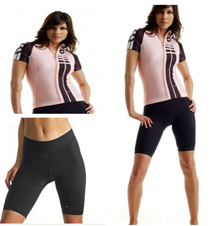 2015 assos lady cycling jersey women cycling kit Shorts pad sports wear  cycling shirt mountain bike clothing 58e5613a0