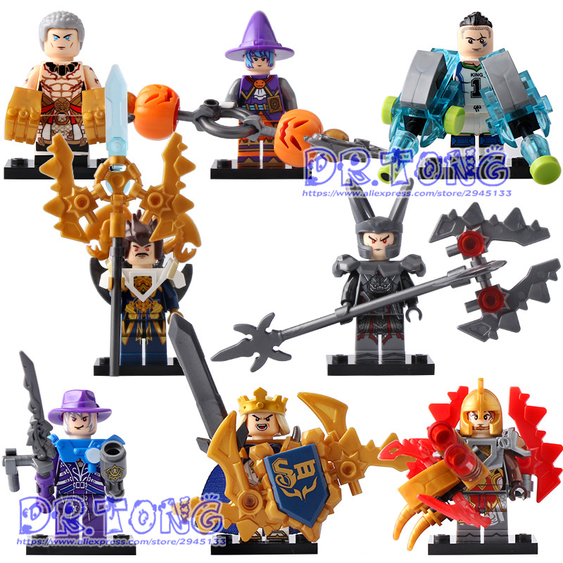 DR.TONG 80PCS/LOT SY655 New Enlighten Figures One of China Romance the Three Kingdoms King Knight Heroes Building Blocks Toys a knight of the seven kingdoms