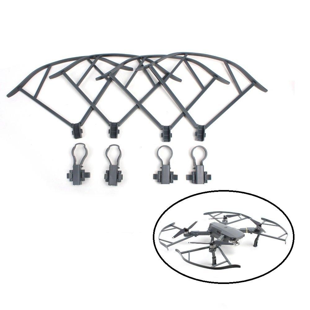 Prix pour 4 PCS Quick Release Hélice Gardes Pour DJI Mavic Pro Drone Pare-chocs Protecteurs, aucun Obstacle D'évitement Interférences