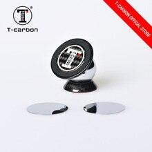 T-CARBON углеродное волокно магнитный держатель телефона с присоской авто аксессуары