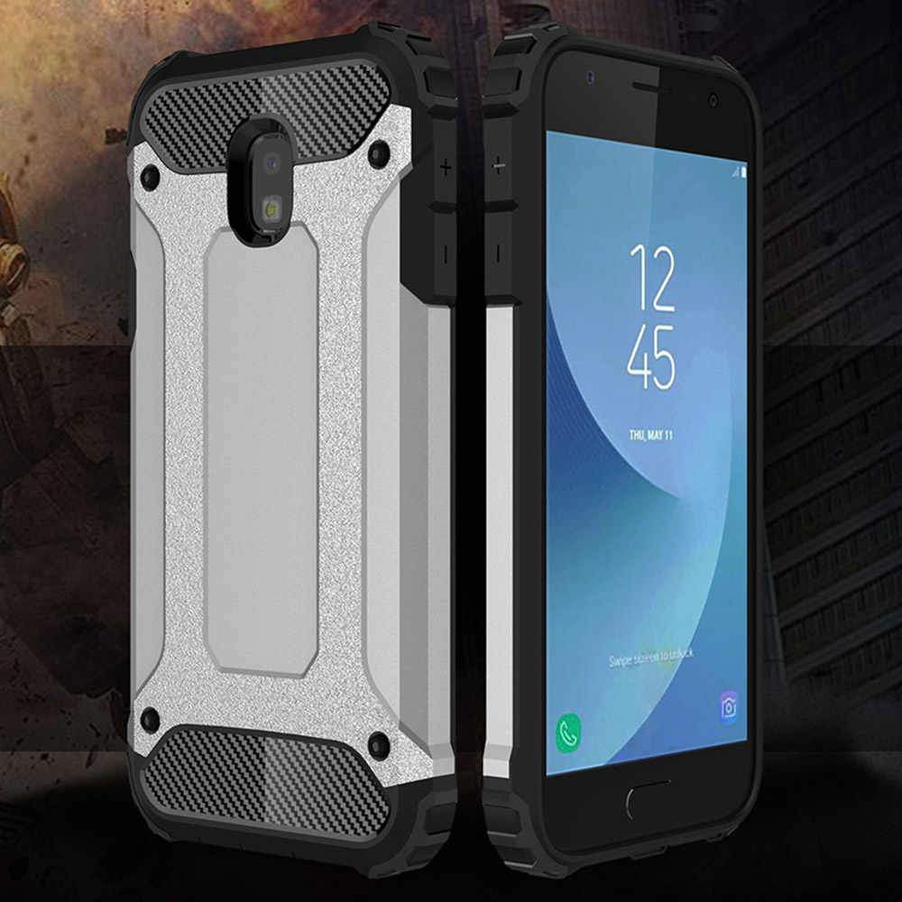 Shockproof Armor Coque Cover 5.5For Samsung Galaxy J7 2017 Case untuk Samsung Galaxy J7 PRO 2017 J730 Telepon Kembali Tritone cover Case