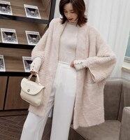 ZiZhen Winter Double faced Fur Genuine Mink Fur Coats Women's OverCoat Full Pelt 180824 5