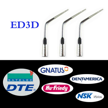 3 pieces/lot Dental Scaler Tip ED3D for DTE/ Satelec/ NSK/ Gnatus/ Bonart Dentist Endo Device Instrument Teeth Whitening 3 pcs lot dental scaler tip ed4d for dte satelec nsk gnatus bonart dentist endo device instrument teeth whitening