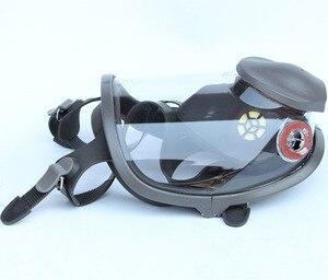 Image 3 - 3 In 1 Sicherheit Malerei Spritzen Atemschutz Gas Maske gleiche Für 3M 6800 Gas Maske Volle Gesicht Gesichts Atemschutz