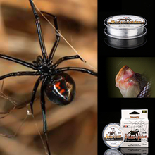 FTK 2018 Neue Eis Angelschnur Fishing Line Leash For Fishing Twine Fishing Articulos De Pesca Fishing Line For Winter Clear
