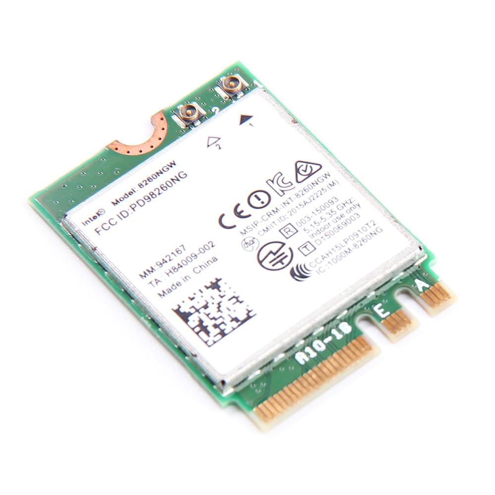 Dual Band Baru Untuk Intel Wireless-AC 8260 8260NGW NGFF 2x2 WIFI - Peralatan jaringan - Foto 6