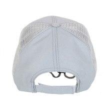Summer Unisex fishing Cap Mesh Cap Adjustable Sports Sun Visor Hat