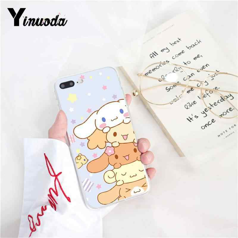 Yinuoda Sanrio بوم بوم برين جميل الكرتون فتاة الهاتف حالة ل فون 8 7 6 6S زائد 5 5S SE XR X XS ماكس 10 11 11pro 11 بروماكس
