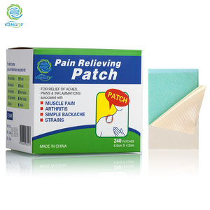 KONGDY Health Care Pain Killer 240 Pieces/Box Menthol Pain Relief Patch Medical Back/Neck Pain Plaster for Body Camphor Plaster