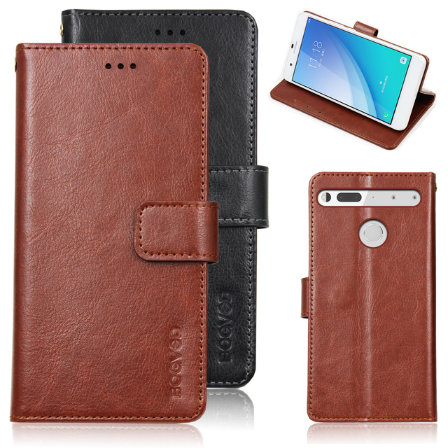 TOP Leather Case For Essential Phone / Essential Products PH-1 A 11 A11 With Card Slot Flip Cover Case Wallet Cellphone Housing