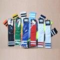 12 Colores 2016 nuevos Niños pequeños Calcetines de Fútbol 2016 Top calidad 100% algodón niños calcetines de fútbol niños respirables del deporte calcetines