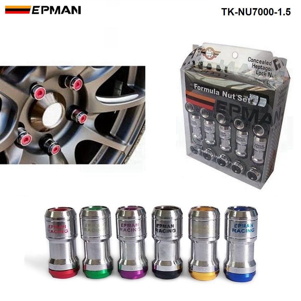 5 x M14 x 1.5 CONICI BULLONI DADI ALETTE PER AFTERMARKET Alloy Wheels per auto AUDI