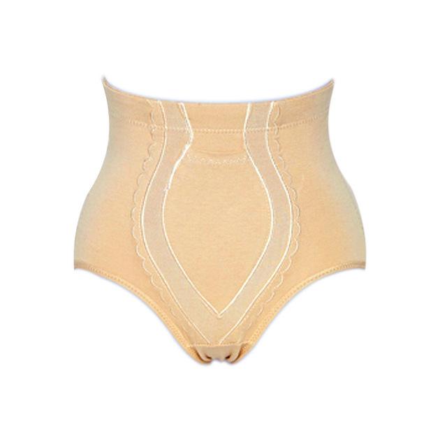 4xl más cómodo mujeres medio cintura cotton adelgaza la cintura shaper butt lifter bragas shapers control de la ropa interior del vientre de bolsillo