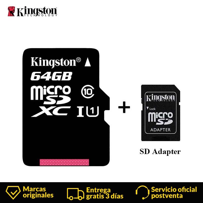 Kingston Micro SD Card Mini Memory Card 16GB 32GB 64GB 128GB MicroSDHC UHS-I SD/TF Read Card Adapter Flash Card For Smartphone