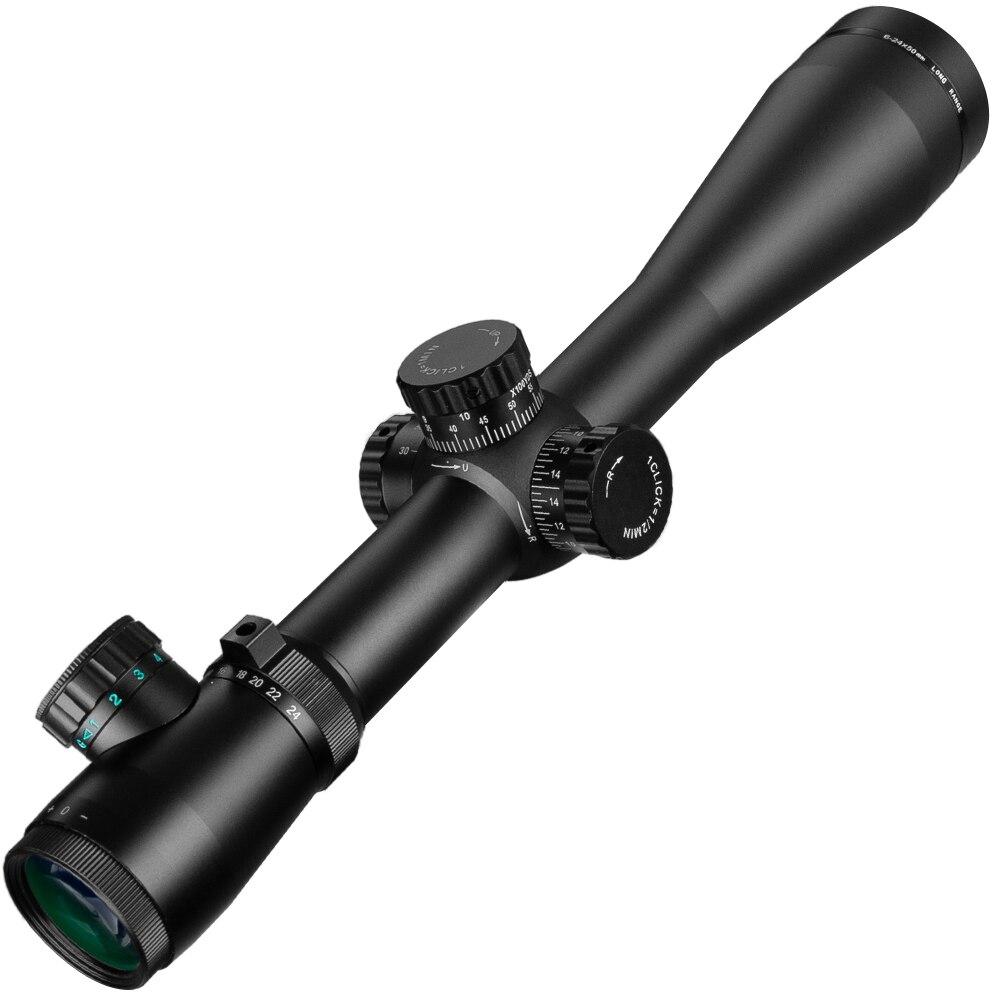 Leupold 6-24x50 M3 lunette de visée tactique fusil optique portée Sniper chasse fusil portée longue portée Airsoft fusil - 2