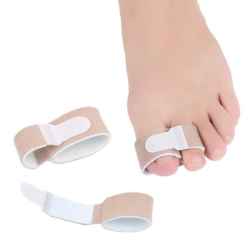1PC Nylon Hallux Valgus Corrector Bandage Toe Latex Toe Finger Straightener Hammer Toe Separator Splint Wrap Foot Stretcher Care