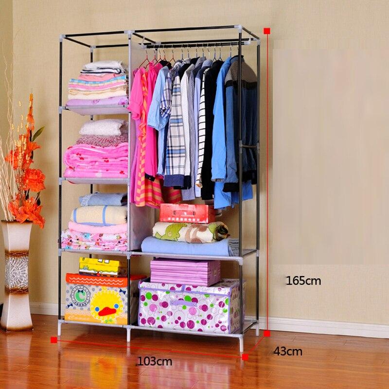 H202 2 Armarios Muebles de Color Marrón Con Simples Armarios de Gran ...