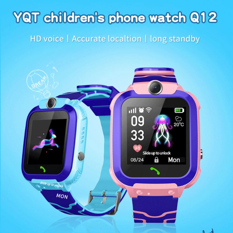 Hot Children's Smart Waterproof Watch SOS Positioning Tracking Language Intercom Remote Monitoring Smart Watch