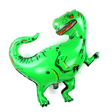 20pcs Tyrannosaurus Rex dinosaur party balloons birthday decorations kids animal ballons inflatable helium globos