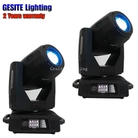 2PCS/LOT 350W 17r beam spot wash 3in1 moving head stage light