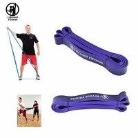 3.2 cm Genişlik Direnç Gruplar Spor Lateks Yukarı Çekin CrossFit Döngü Home Gym fitness ekipmanları direnç halat egzersizleri