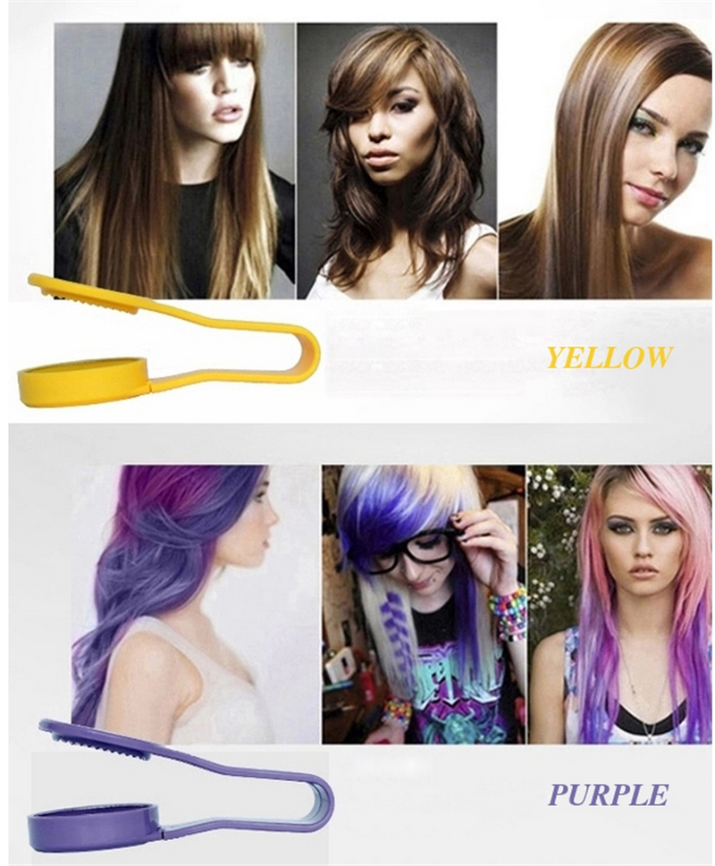Dexe Temporary Hair Color Chalk Powder Beauty Gaga Halloween Party Makeup Disposable DIY Super Hair Dye Colorful Styling Kit 10