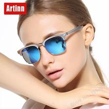 Luxury brand designer sunglasses women UV400 polarized round sun glasses feather light cute cool style oversized M8558