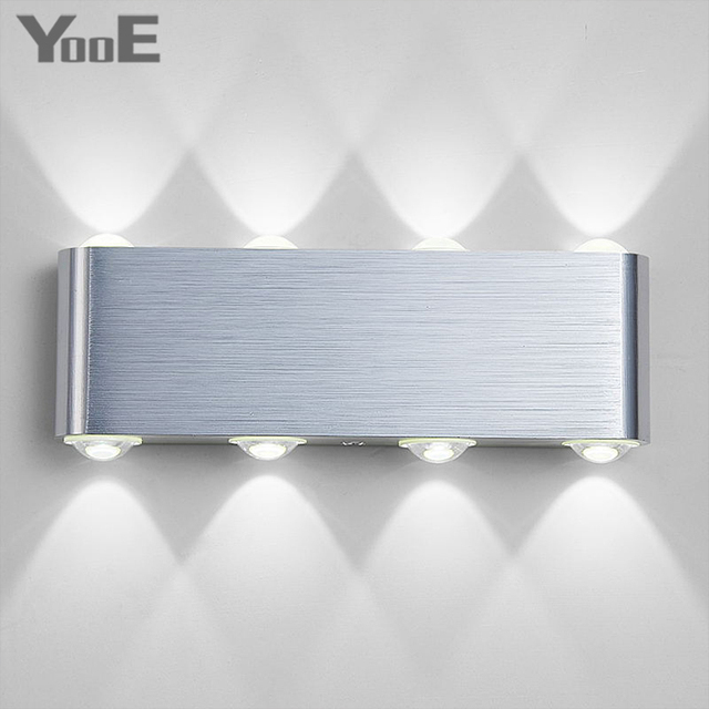 Indoor Fashion  LED Wall Lamp 8W AC100V/220V Decorate sconce  bedroom Light Free shipping