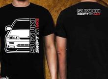Suz Swift Gti Mk2 рубашка (Азия) 2019 Новая повседневная мужская футболка креативная Мужская шелковая футболка с коротким рукавом
