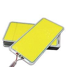 12В 70Вт 7000LM светодиодный Панель светодиодные ленты COB светильник сбалансированный 220x113 мм белый/теплый HVR88