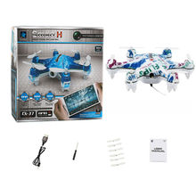 Cheerson UAV CX-37 Smart-H 4Ch 6axis Drone With 0.3MP Camera Phone WIFI control RC helicopter height hold LED Quadcopter toys