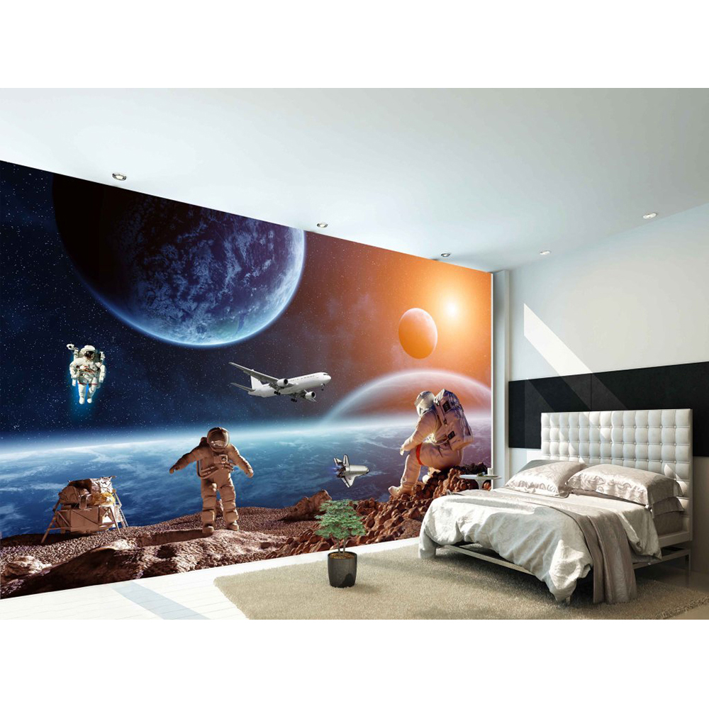 3d custom mural diy wallpaper for walls brand designer for Custom mural wallpaper