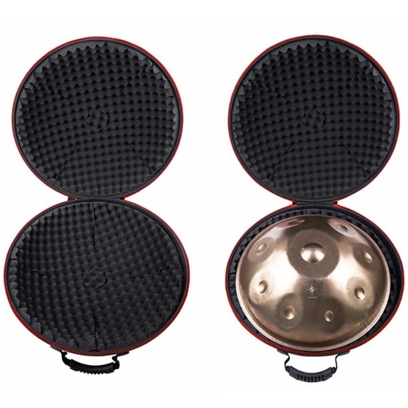Pressure-resistant Shock Absorption Waterproof Professional HandPan Case Moistureproof Wear-resistant Oxford MetalDrum Bag Cover