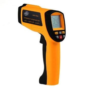 GM1150A Handheld Infrared Thermometer, Electronic Temperature Measurement Digital Thermometer, Industrial Temperature Tester