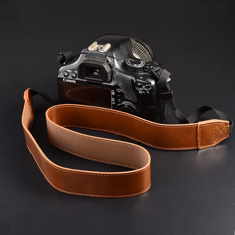 Universal Camera Belt Shoulder Leather Single Neck Strap For Sony Alpha A99 A7 2 Ii A77 A7riii A7s A6500 A6000 A5100 A6300 A500