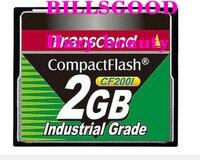 BILLSGOOD TS2GCF200I trascender Industrial wide temp CF tarjeta 2G CF200I SLC tarjeta cf de 2GB|card|card card|card cf -
