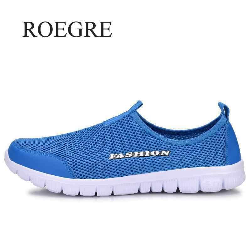Ayakkabı erkek Yaz Ayakkabı 2019 Yeni Artı Boyutu 35-46 Rahat Erkekler rahat ayakkabılar Örgü nefes alan loafer'lar Flats Ayakkabı Ayakkabı