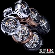3 вида цветов kflk ювелирные изделия рубашка запонки для мужчин