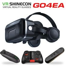Оригинальный VR shinecon 6.0 гарнитура Обновление версии Очки виртуальной реальности 3D VR очки гарнитура шлемы игре коробки игры VR коробка