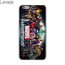 Marvel Avengers Hard Cover Case iPhone X XS Max XR 6 6S 7 8 Plus 5 5S SE 5C 4S 10