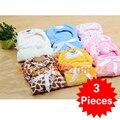3 unids Alta calidad coral polar manta de bebé manta Pañales recién nacido super suave y cómoda ropa de Cama de bebé producto del bebé