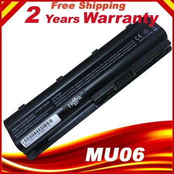 Laptop Battery MU06 593553-001 For HP G62 G72 CQ42 DM4 Notebook PC golooloo 6 cell battery for hp pavilion g4 g6 g7 g32 g42 g56 g62 g72 cq32 cq42 cq62 cq56 cq72 dm4 mu06 593553 001 593562 001