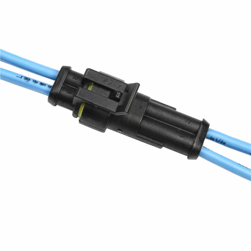 1Set 1/2/3/4/5/6 Pin Cara Seal QUAD SEPEDA 12A IP68 tahan Air Listrik Otomotif Konektor Kawat Terminal untuk Mobil