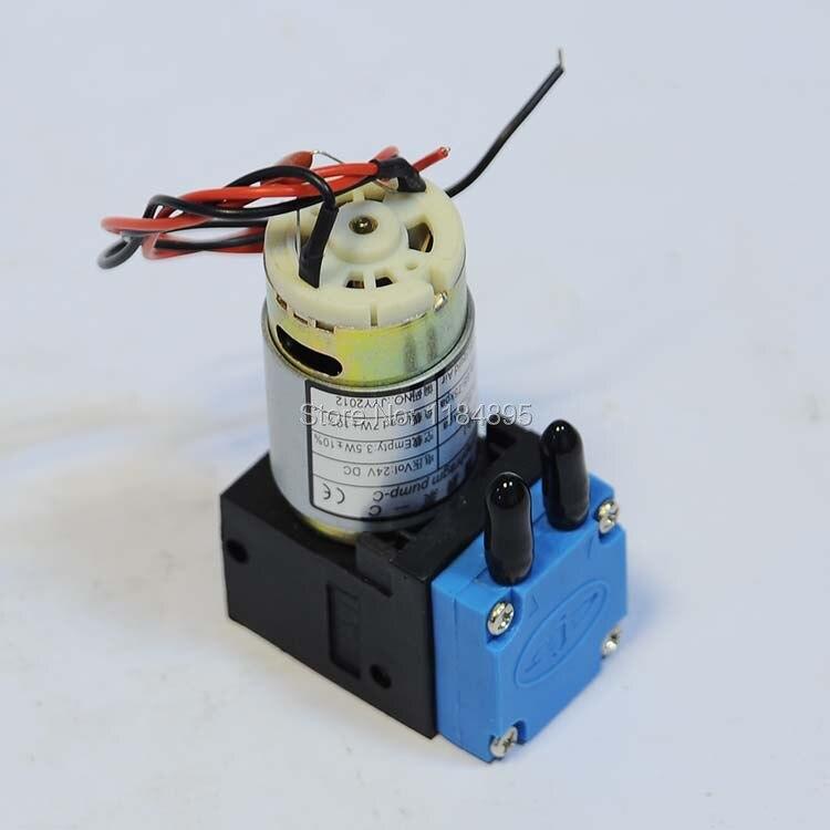 Original !! Micro Diaphragm Pump -C Air Pump JYY(B)-Q-30-1 80-95 kpa Liquid Air 24V DC 7W Inkjet Printer Spare Parts