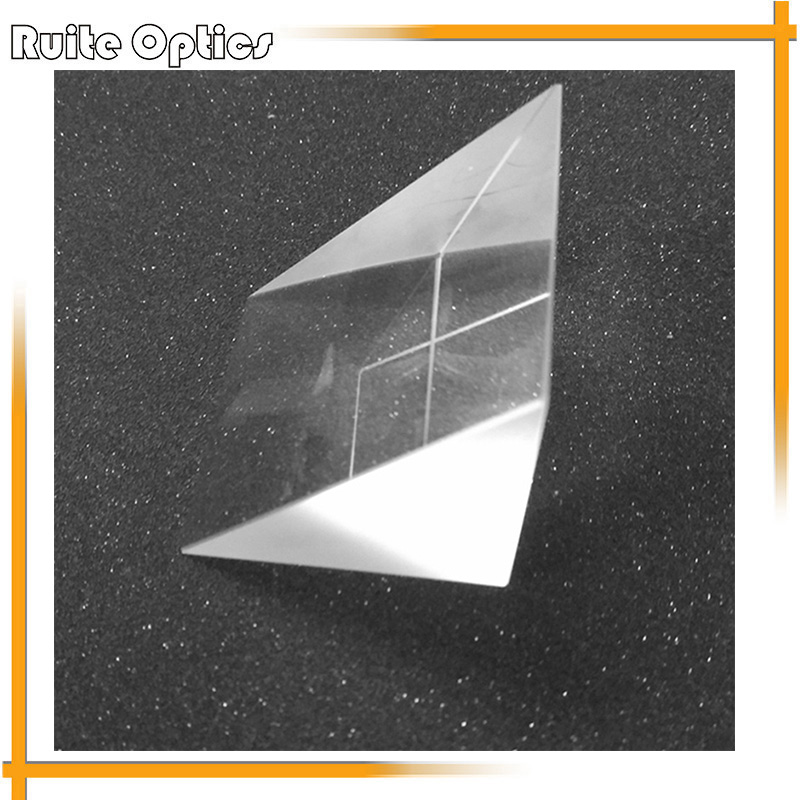 50x50x50mm K9 Optical Glass Right Angle Prism For Optical Experiment Optical Instruments Rainbow Principle Research kzj 108p k9 rectangular prism