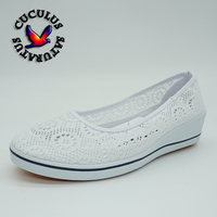 Cuculus Women Loafers Soft Slip On Canvas Flats Shoes Woman Solid Casual Breathable Shoe For Mother